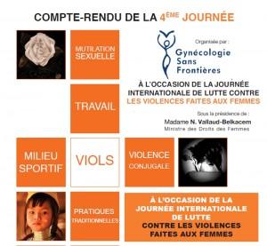 Quatrième Journée Humanitaire Sur la Santé des Femmes dans le Monde –Gynécologie sans frontières