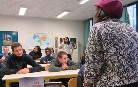 Le #GAMS en action, sensibilisation en milieu scolaire