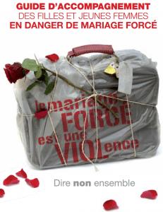 Guide d'accompagnement des filles et jeunes femmes en danger de mariage forcé