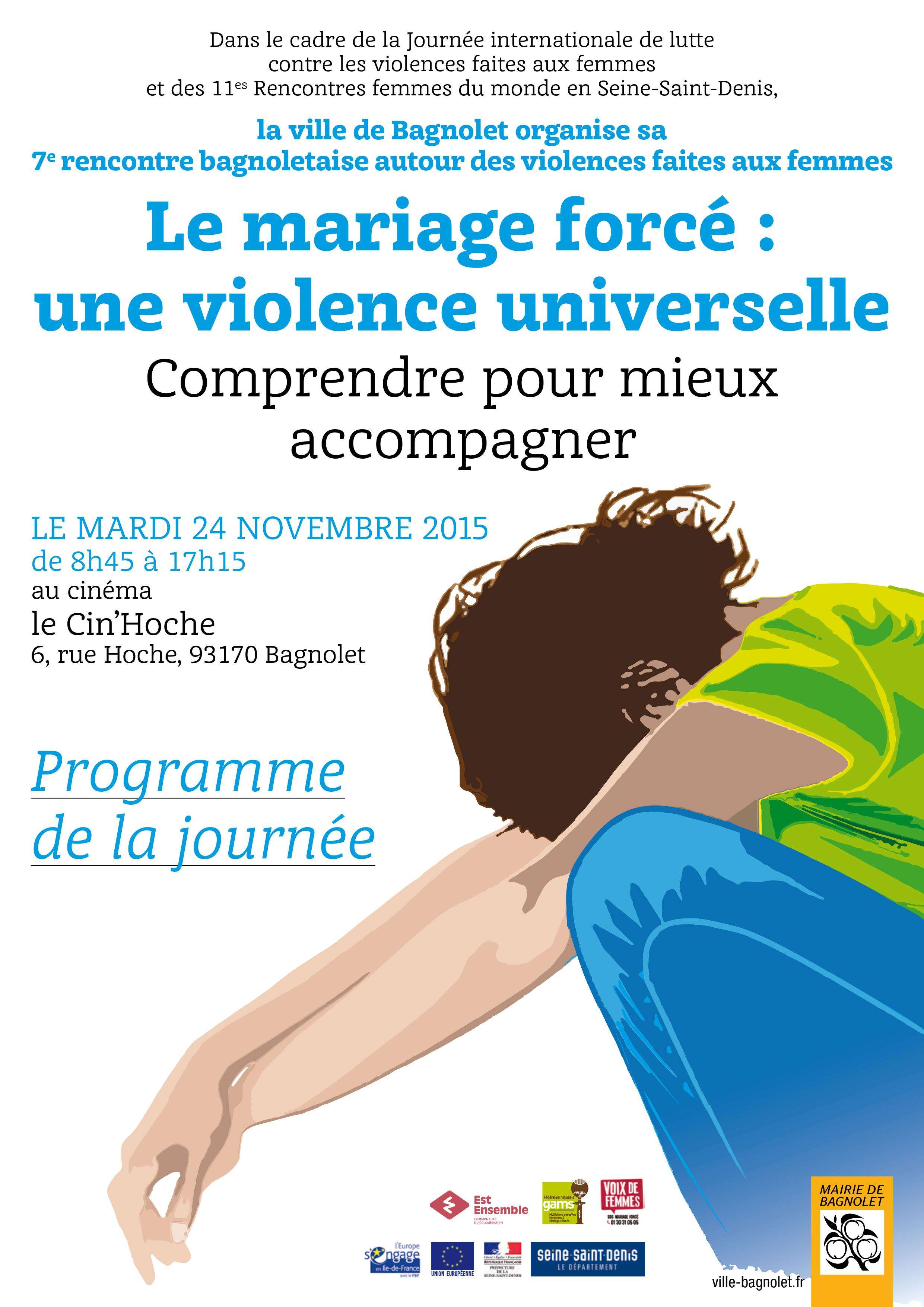 Le mariage forcé : une violence universelle. Comprendre, pour mieux accompagner