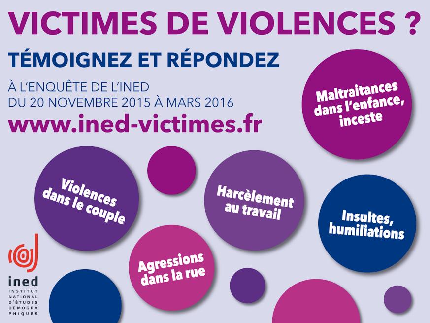 Enquête sur les Violences faites aux Femmes – Merci de répondre au questionnaire !