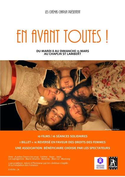 Une séance de ciné, à Paris et vous apportez votre soutien au GAMS, via la Fondation des Femmes