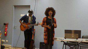 Show case Inna Modja #8mars toute l'année Maison des femmes de Saint-Denis