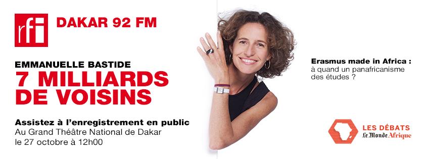 Journée Internationale des Droits des Filles #GAMS #RFI #7milliardsdevoisins #11octobre