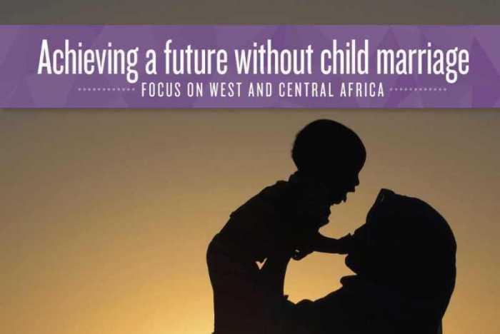 Mobilisation contre les mariages précoces et forcés, en Afrique de l'Ouest et du Centre