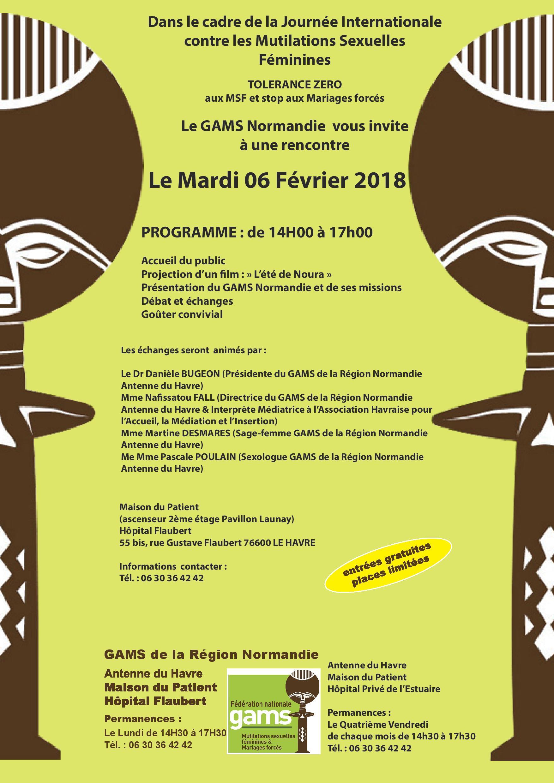 Edition spéciale #6février #Journée Internationale Tolérance Zéro aux Mutilations Sexuelles Féminines