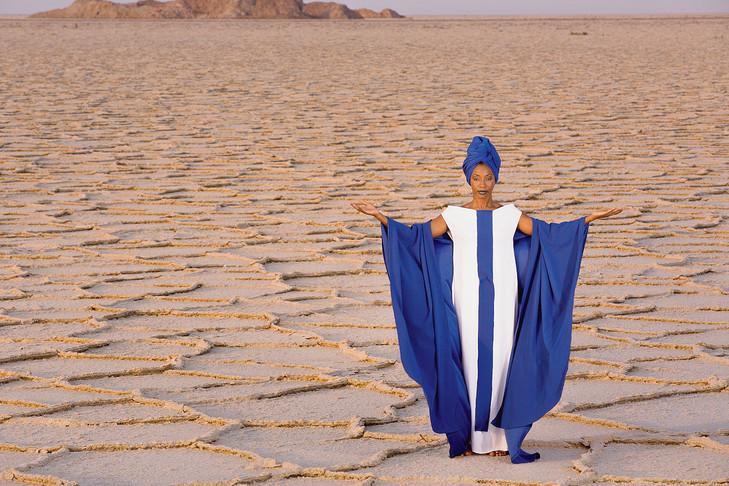 Fatoumata Diawara, une voix qui porte, une voix de griot pop au service des droits des femmes.