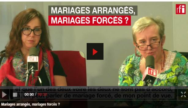 """Mariages arrangés, mariages forcés ? """"7 milliards de voisin.e.s"""" RFI"""