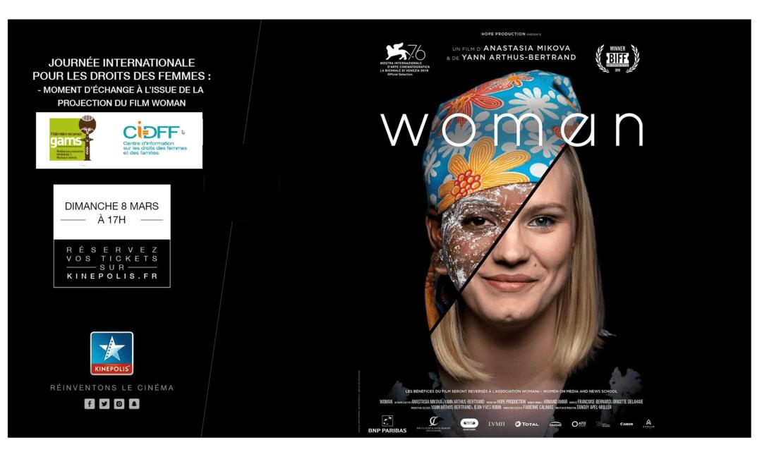 #8marstoutelannée – Actions du GAMS en France-Journée Internationale Droits des Femmes